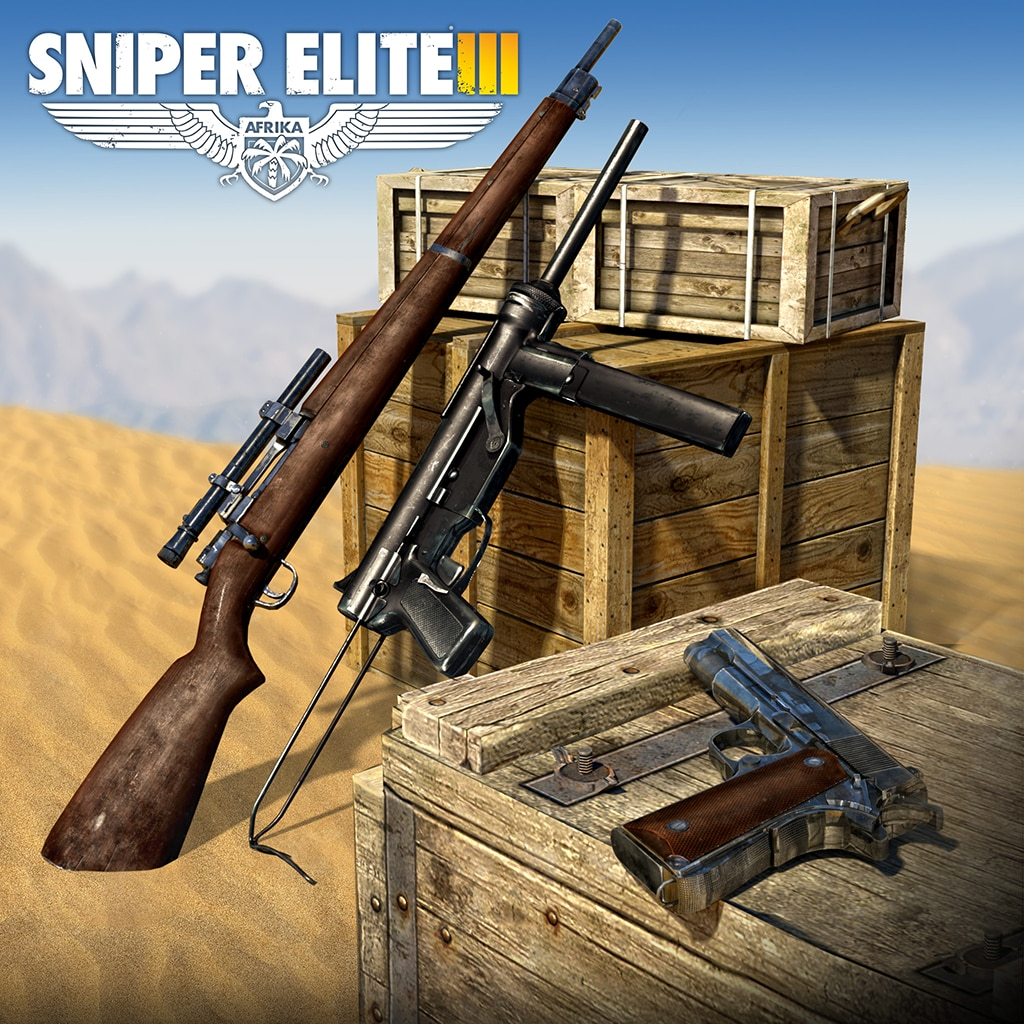 Sniper Elite 3 - Patriot Weapons Pack