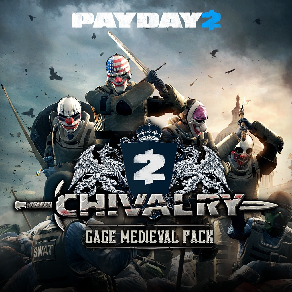 PAYDAY 2: CRIMEWAVE EDITION - Das Gage-Rittertum-Pack
