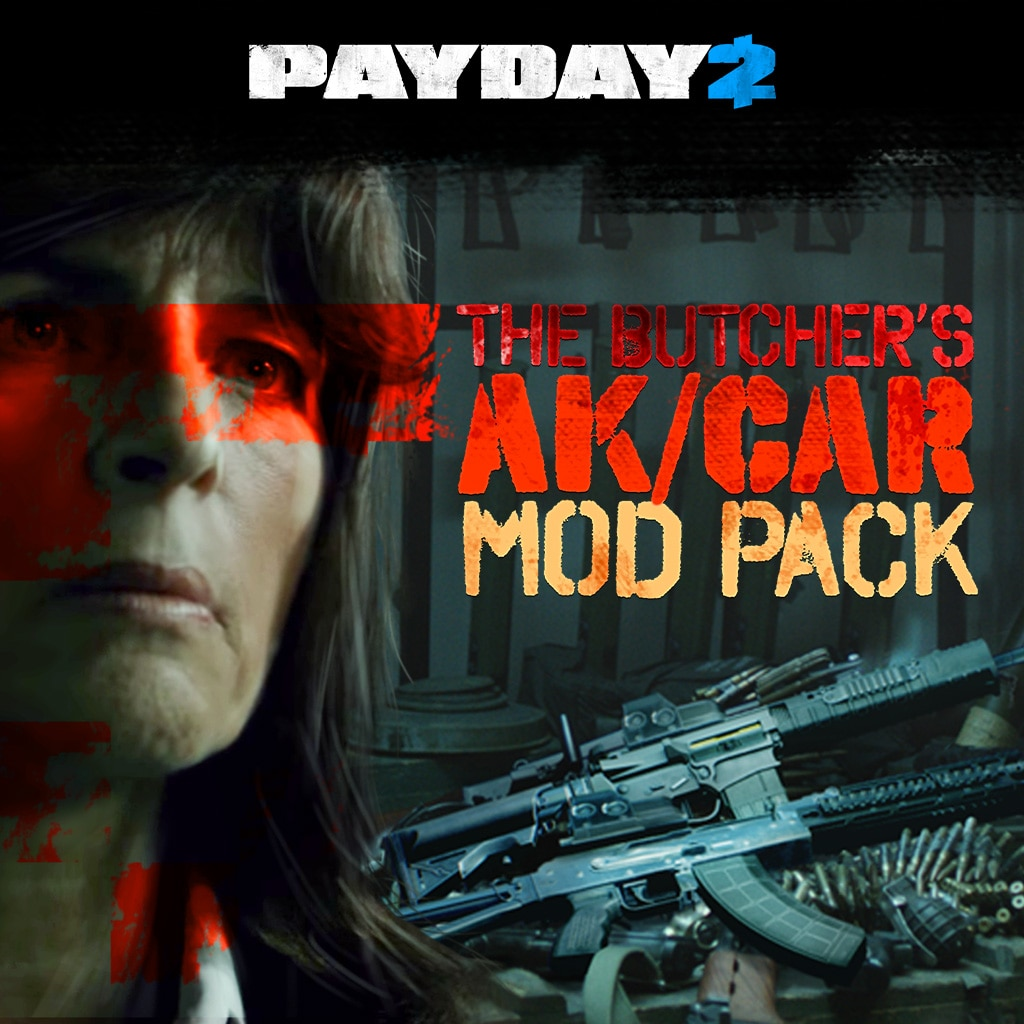 PAYDAY 2: CRIMEWAVE EDITION - Butcher's Mod Pack