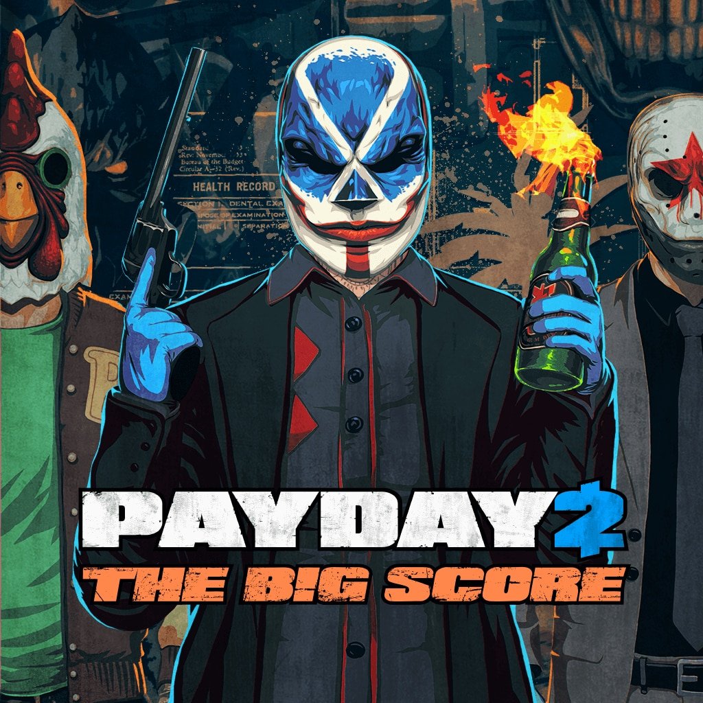 Payday 2 Crimewave Edition - THE BIG SCORE Game Bundle (英文)