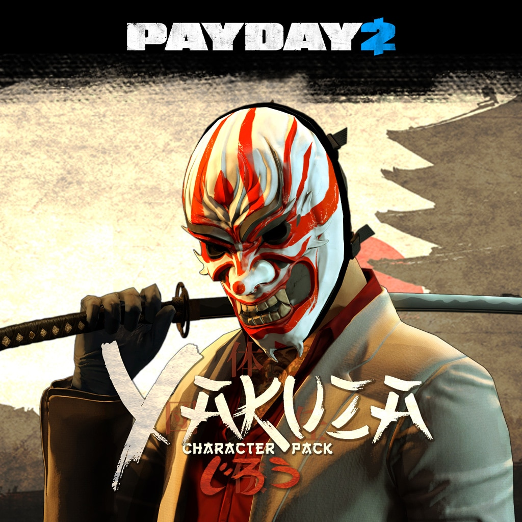 PAYDAY 2: CRIMEWAVE EDITION - Das Yakuza-Charakter-Pack