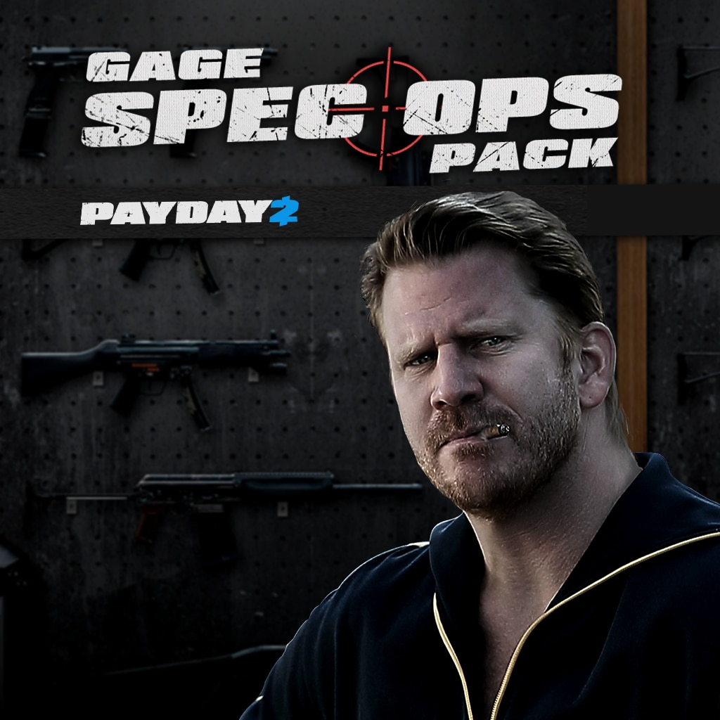 PAYDAY 2: CRIMEWAVE EDITION - Gage Spec Ops Pack