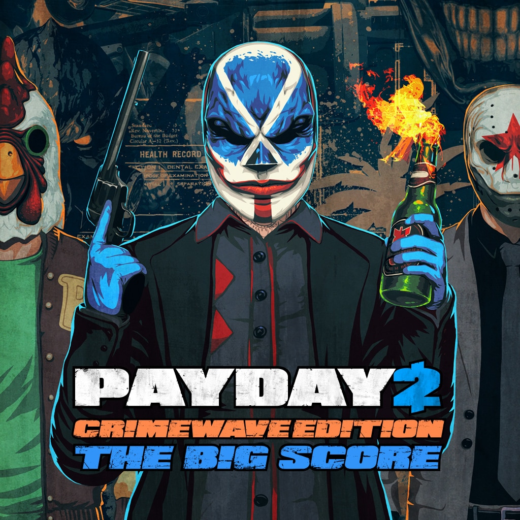 Payday 2 Crimewave Edition (英文)