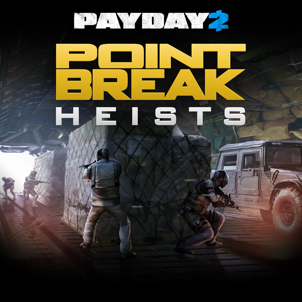 PAYDAY 2: CRIMEWAVE EDITION - The Point Break Heists