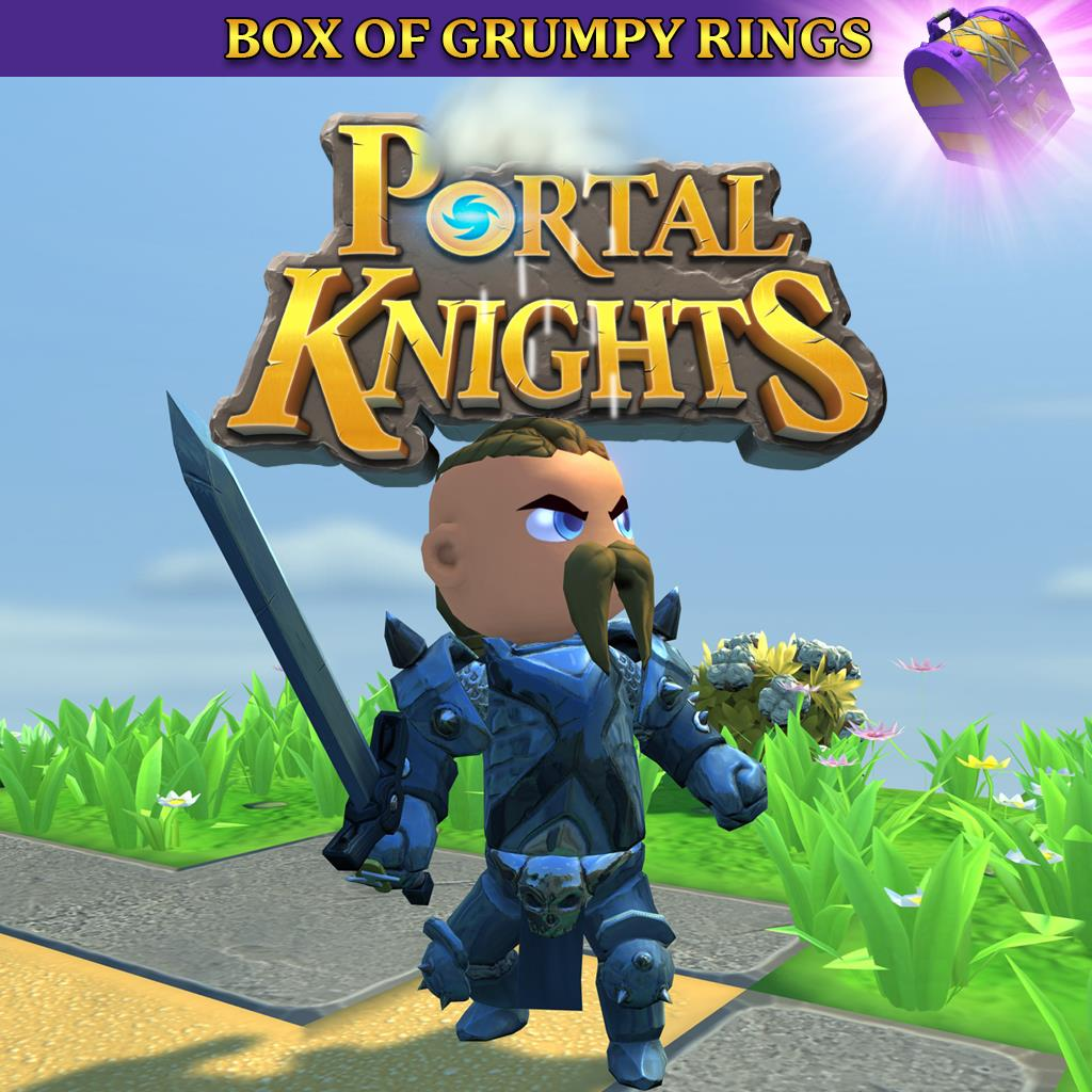 Portal Knights - Box of Grumpy Rings
