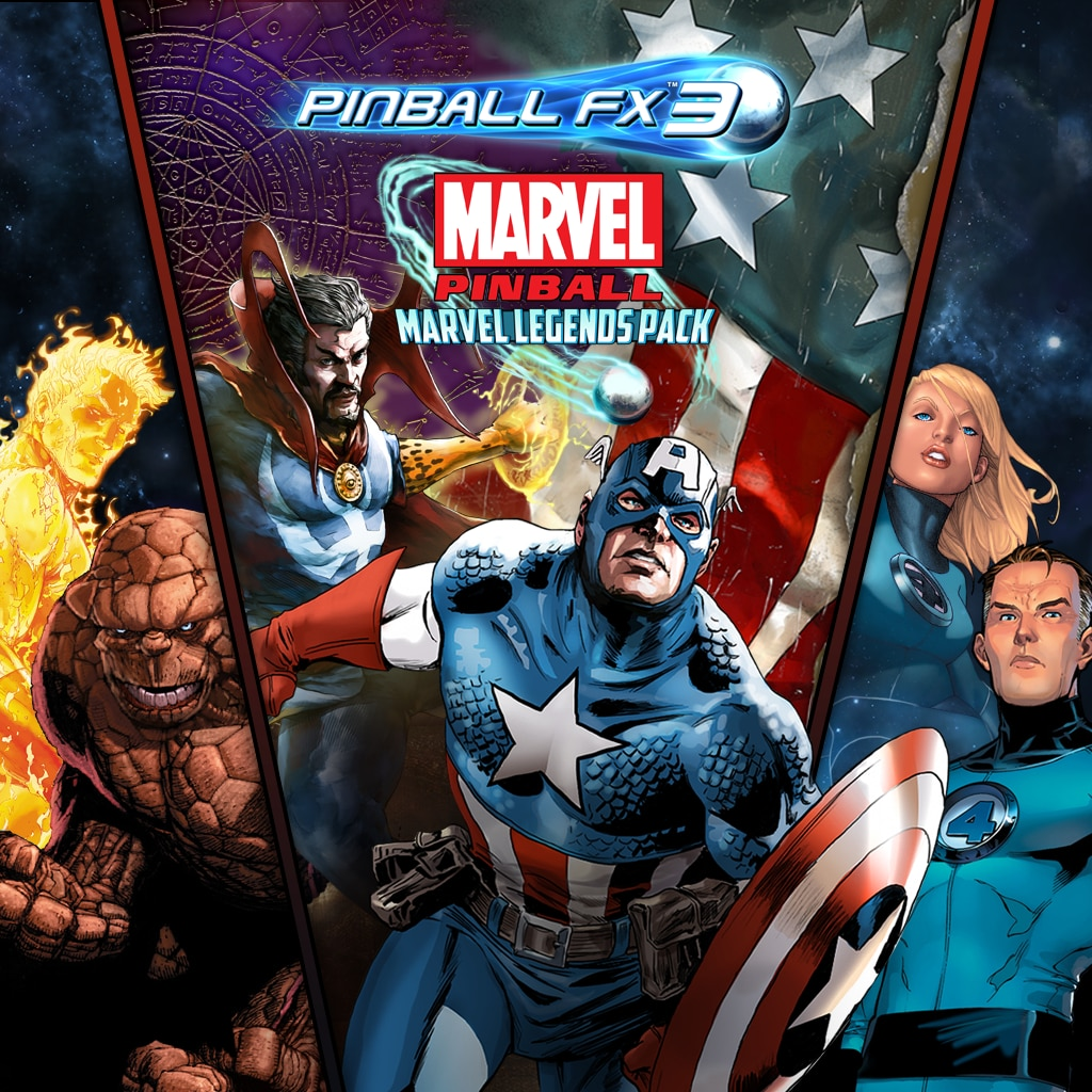 Pinball FX3 - Marvel Pinball: Marvel Legends Pack Demo