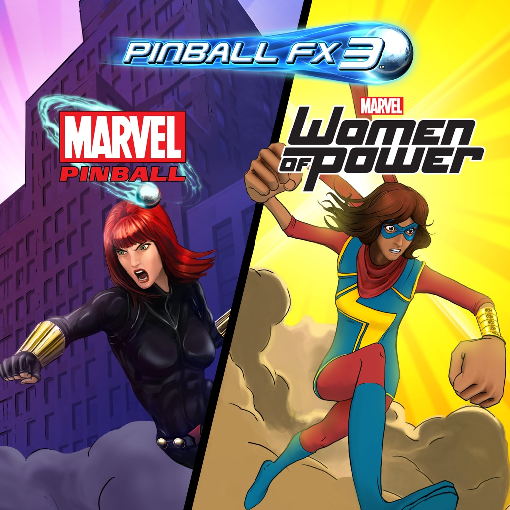 Pinball FX3 - Marvel's Women of Power
