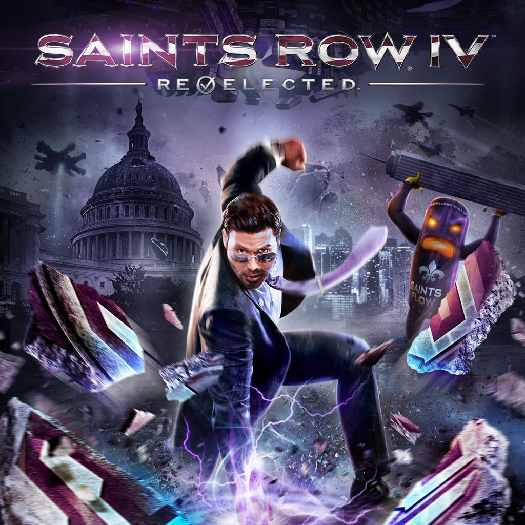 Saints Row IV: Re-Elected (English)