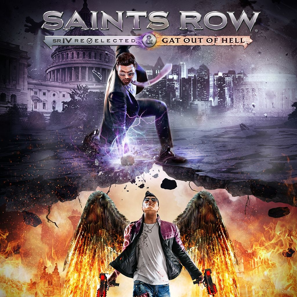 Saints Row IV - Re-Elected / Gat out of Hell (英文)