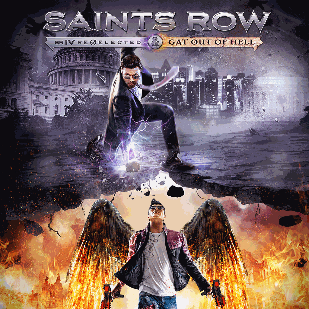 Saints RowIV: Re-Elected & Gat out of Hell