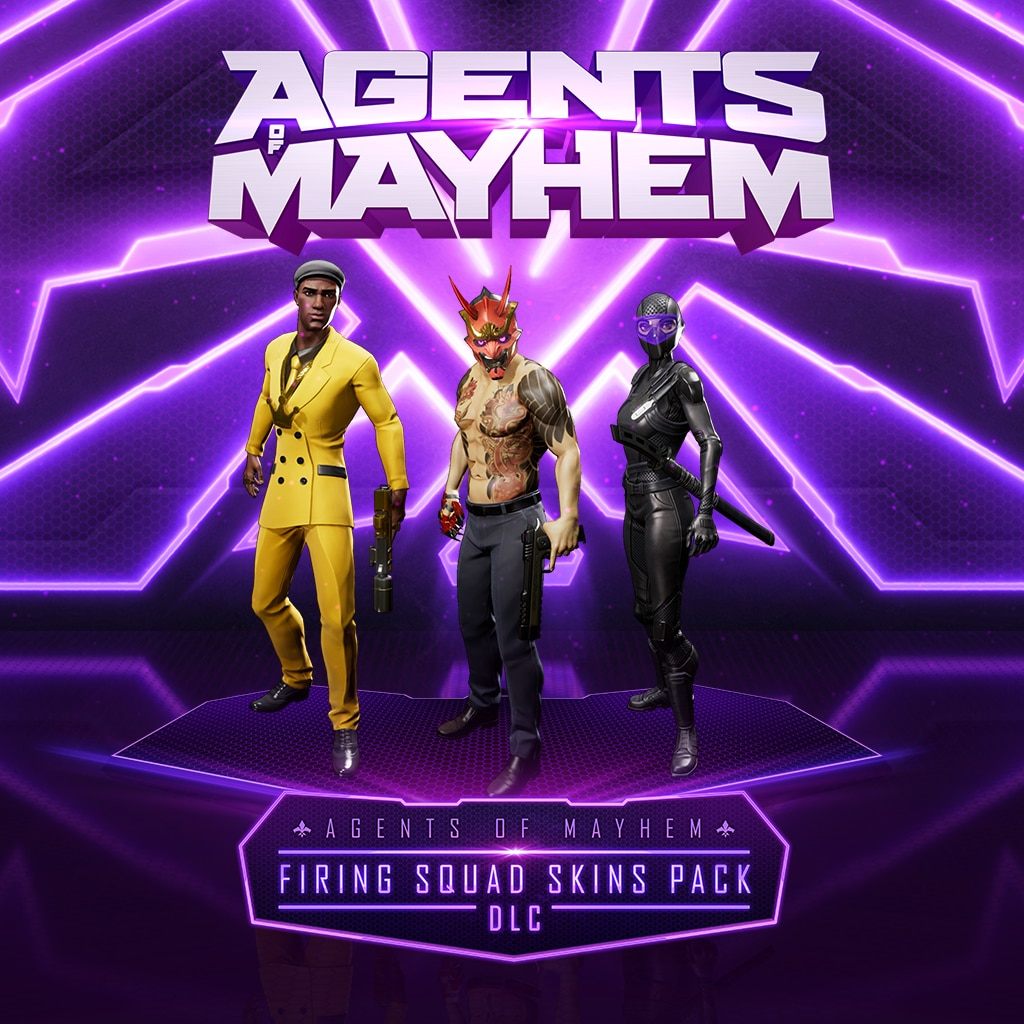 Agents of Mayhem - Firing Squad Skins Pack
