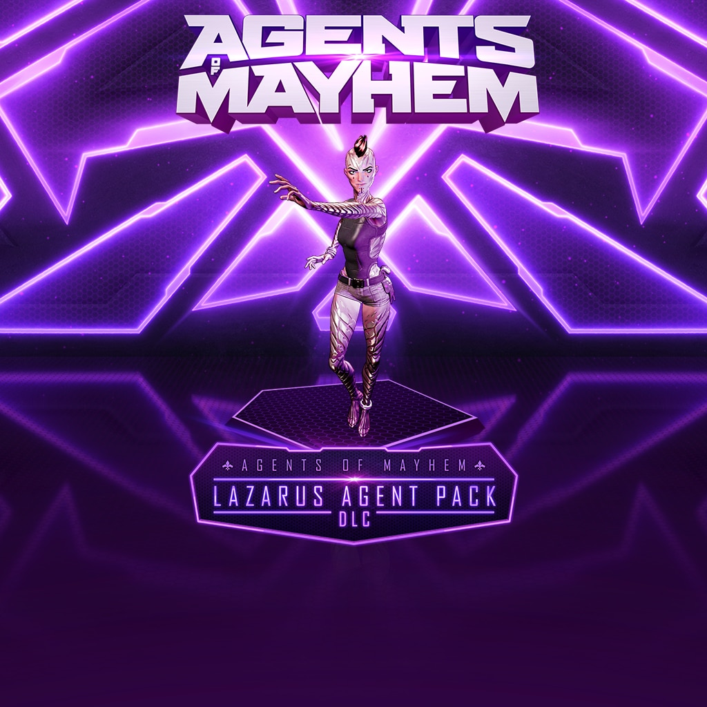 Agents of Mayhem - Lazarus Agent Pack