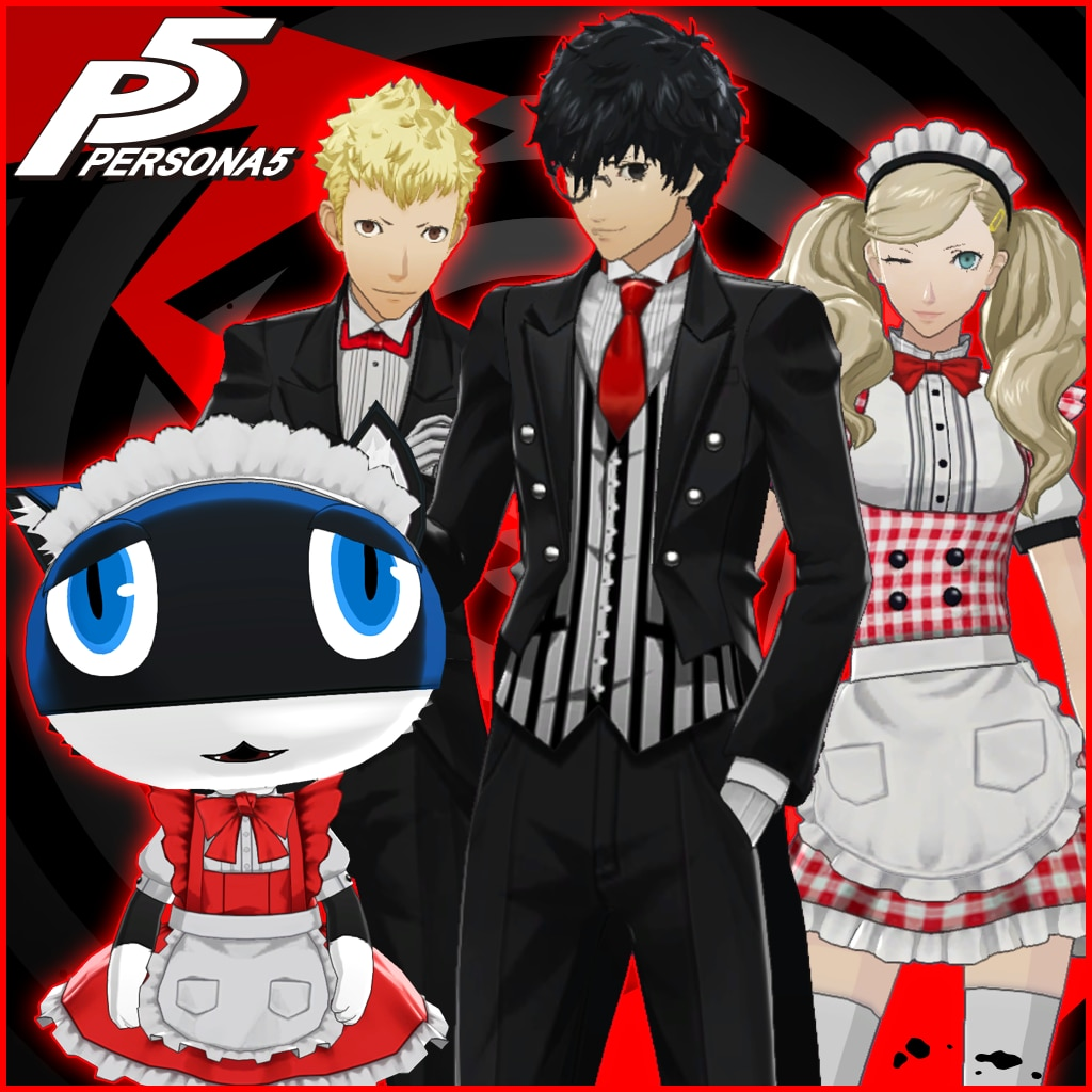 Persona 5 - Maid and Butler Costume Set