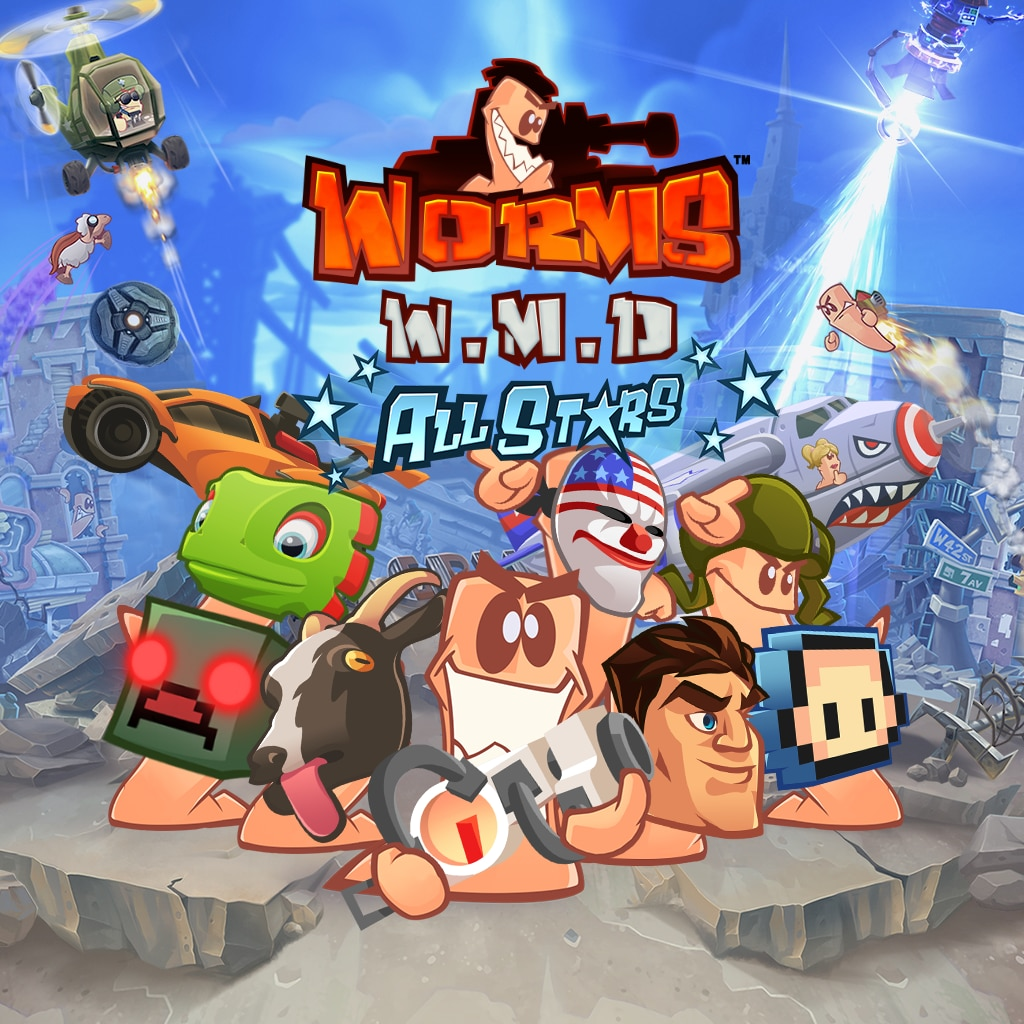 Worms W.M.D All-Stars Pack