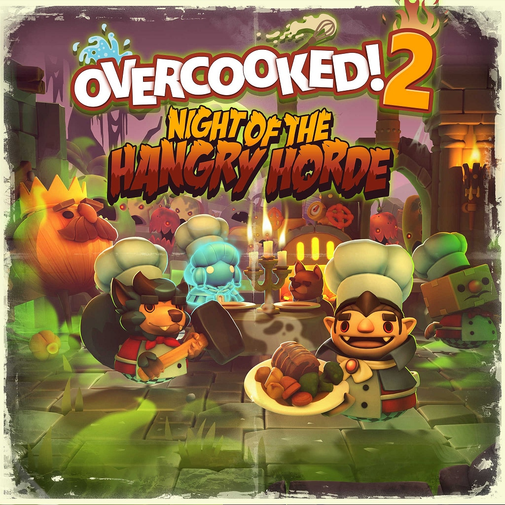 Overcooked! 2 - Night of the Hangry Horde (English/Chinese/Korean/Japanese Ver.)