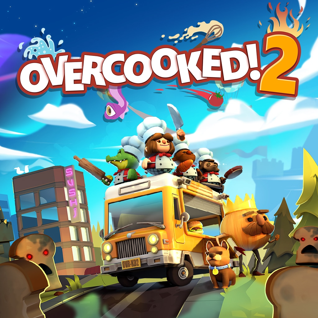 Overcooked! 2 (Simplified Chinese, English, Korean, Japanese)