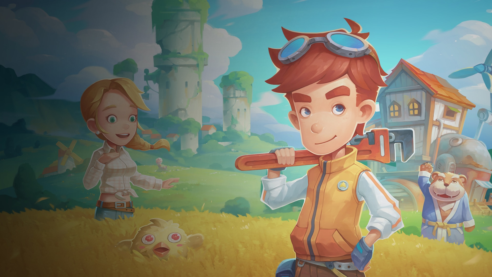My Time at Portia (Simplified Chinese, English, Japanese, Traditional Chinese)