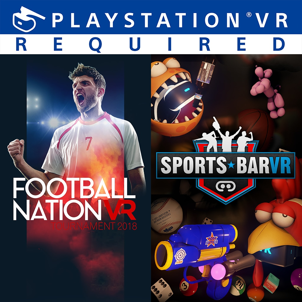 SUPER SPORTS BAR & FOOTBALL VR BUNDLE