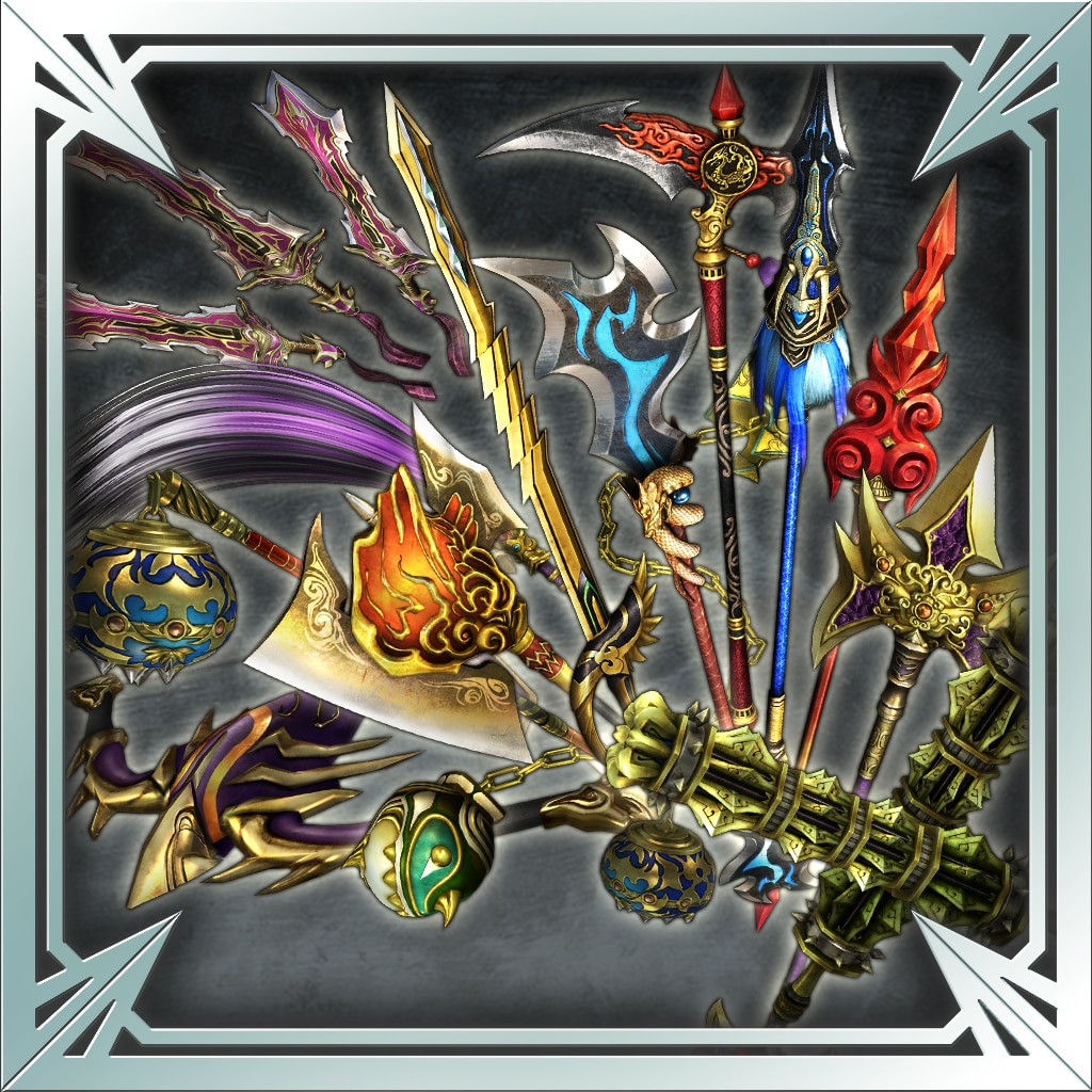 DW8XLCE - NEW WEAPON PACK 4