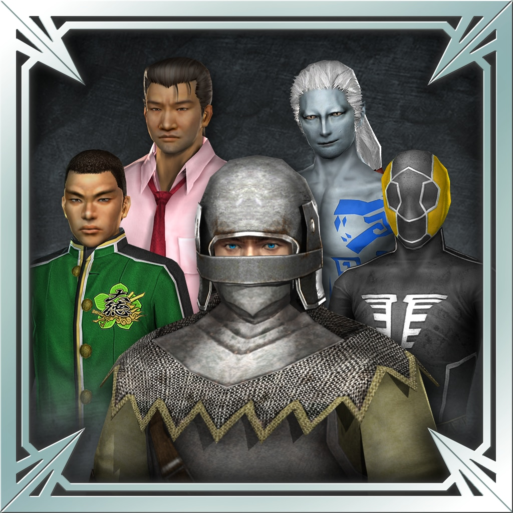 DW8XLCE - UNIFORM AND CAMP SYMBOL SET