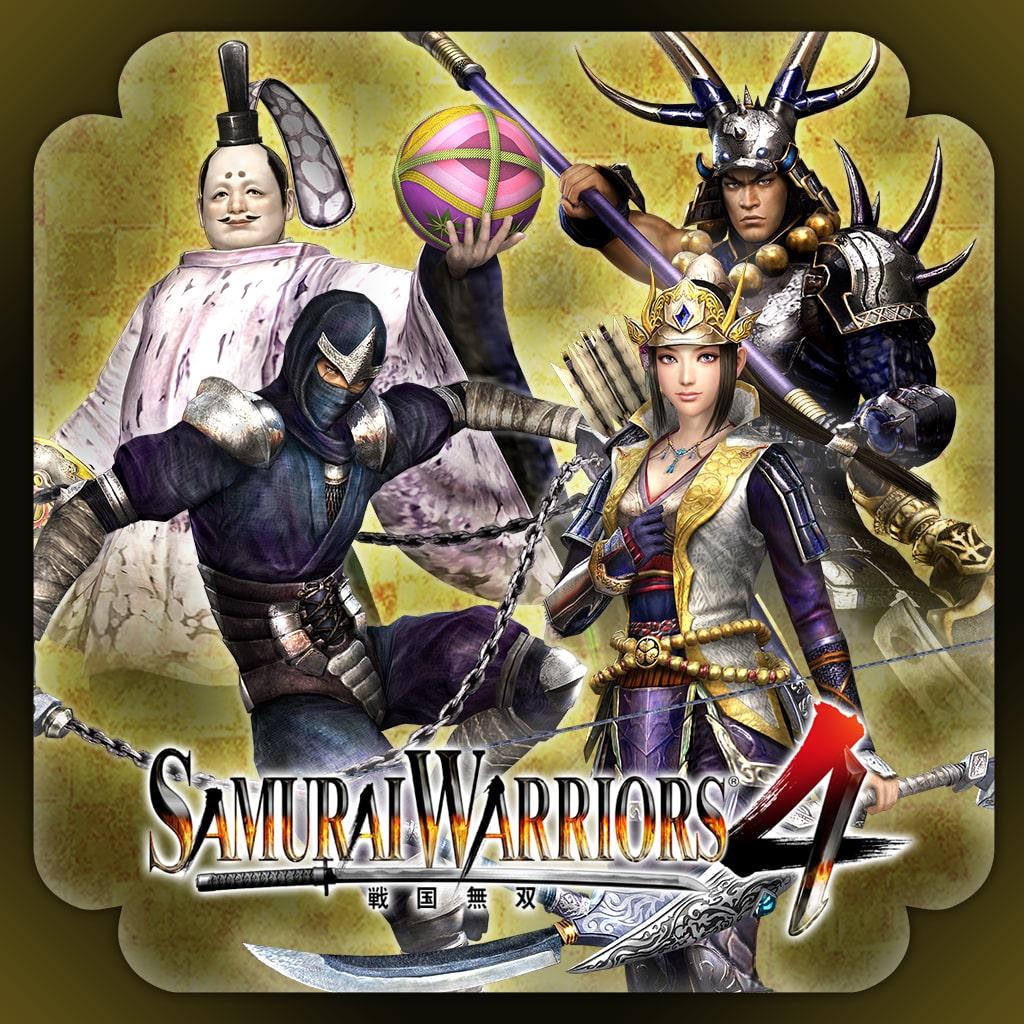 SAMURAI WARRIORS 4 Old Costumes 3