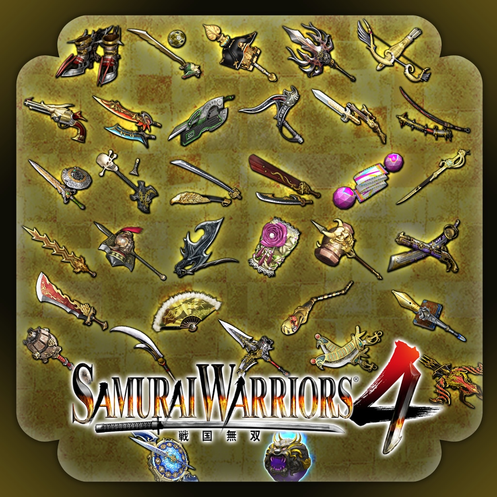 SAMURAI WARRIORS 4 Weapon Pack 2
