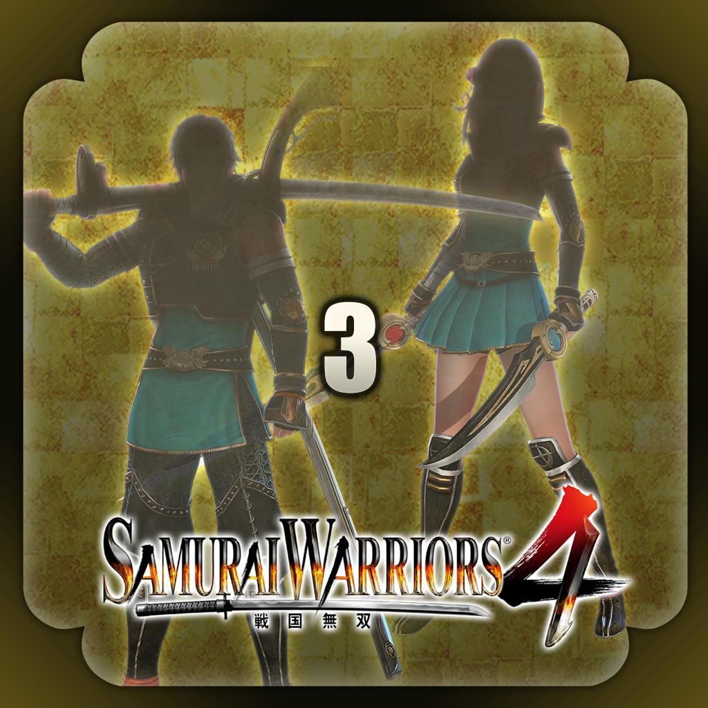 SAMURAI WARRIORS 4 Edit Parts 3