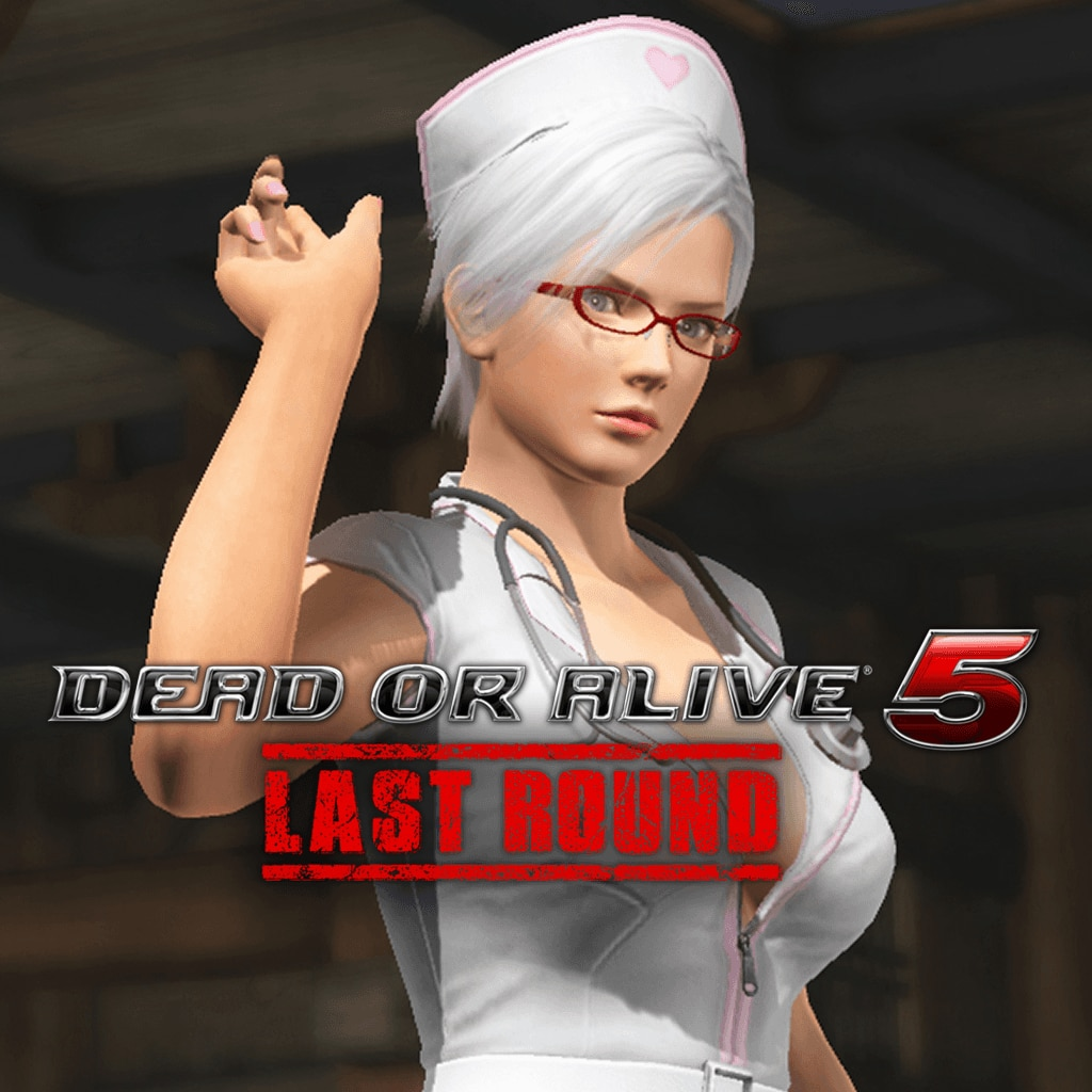 DEAD OR ALIVE 5 Last Round Christie Nurse Costume