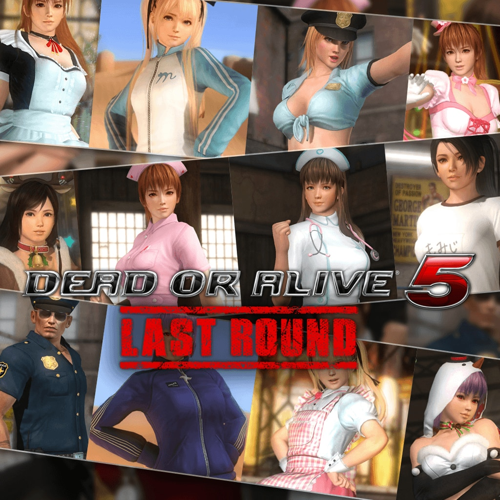 DOA5LR Fun Theme Set