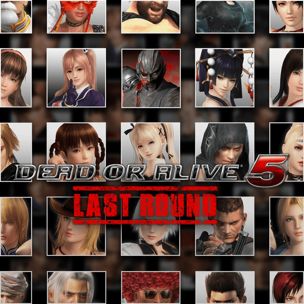 DOA5LR: Core Fighters 30 Character Set