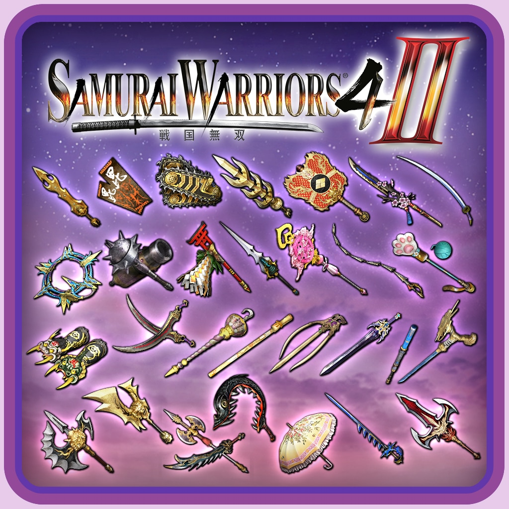 SW4-II - Weapon Pack 3