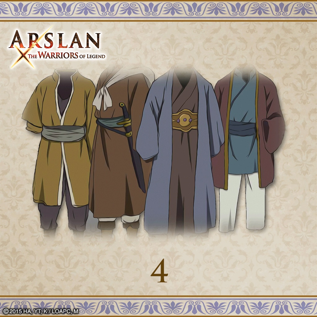 ARSLAN - Original Costumes 4