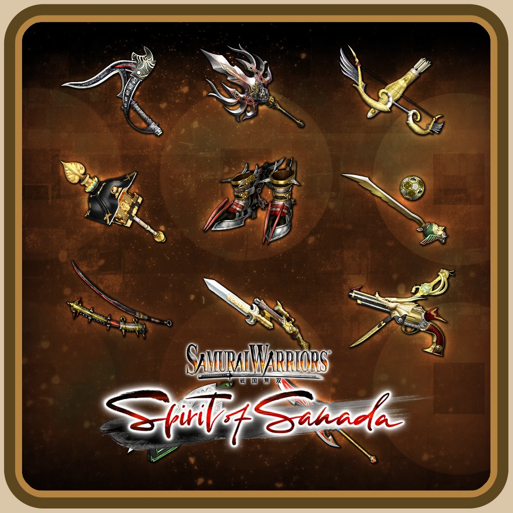 SW: Spirit of Sanada - Additional Weapons Set 4