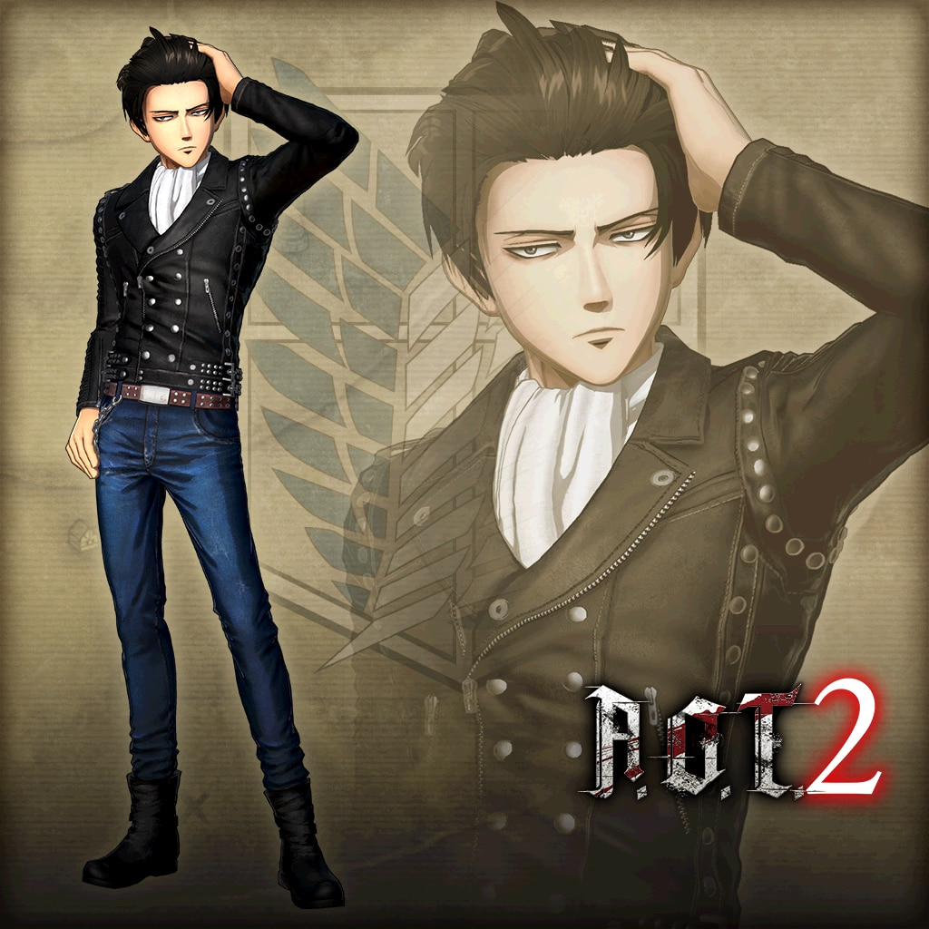 A.O.T. 2:Additional Levi Costume, Leather Jacket