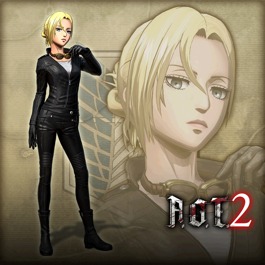 A.O.T. 2:Additional Annie Costume, Motorcycle