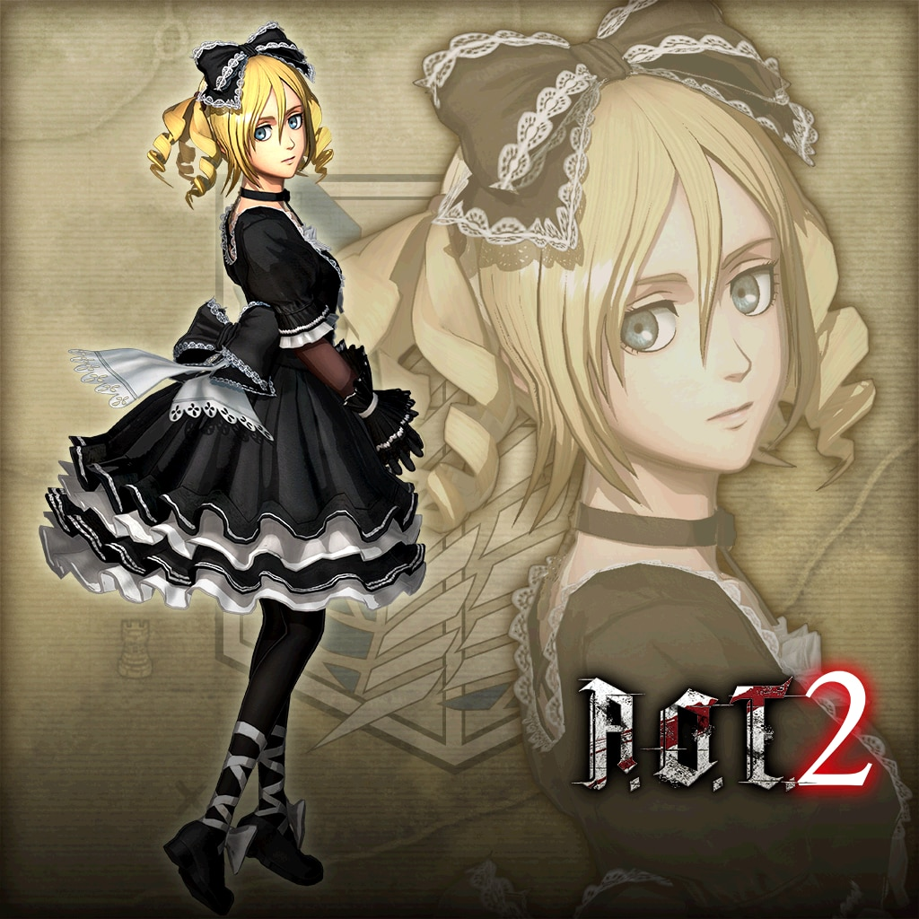 "Additional Christa Costume: ""Cutesy Goth Outfit"" (English Ver.)"