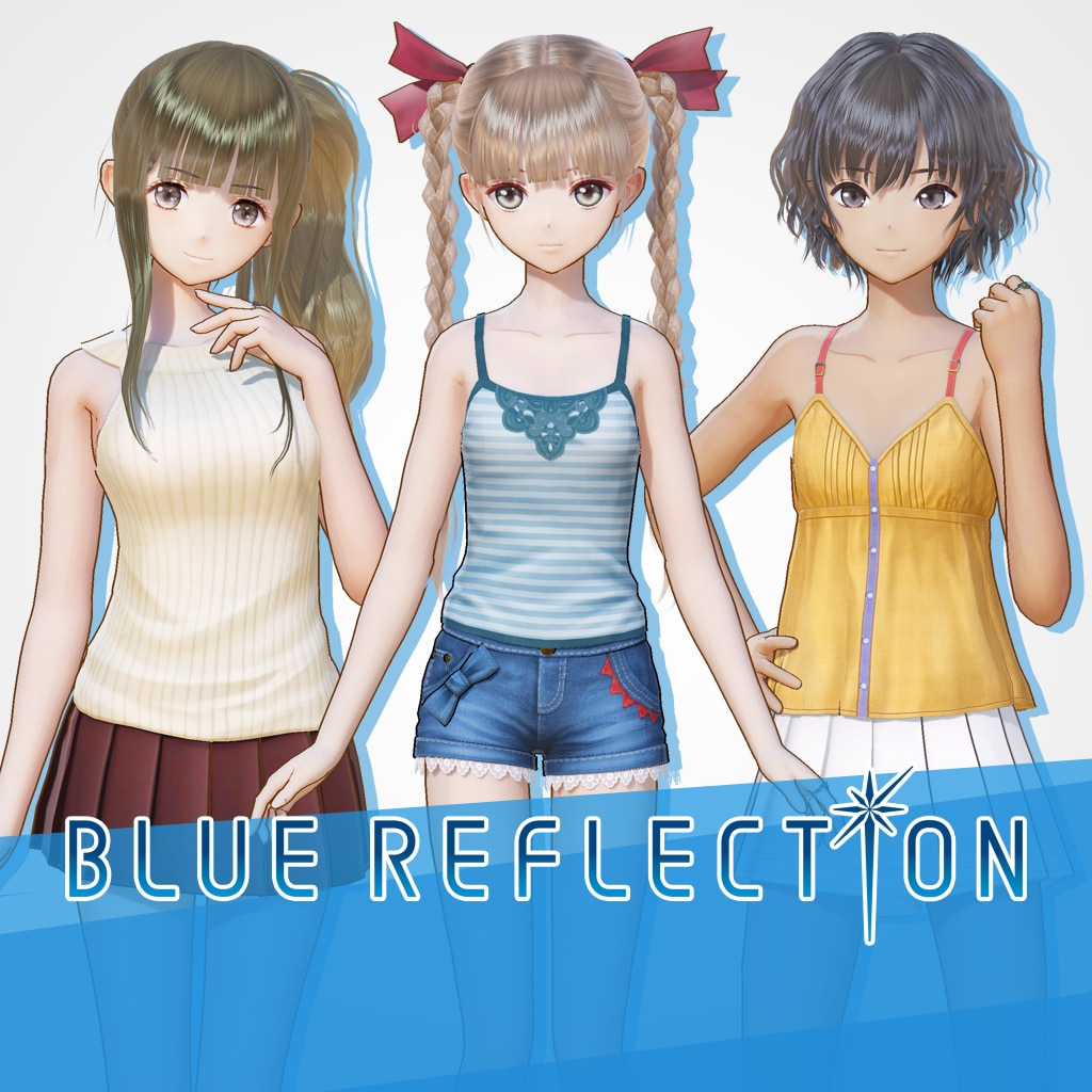 BLUE REFLECTION: Summer Outing Set B (Yuzu, Shihori, Kei)
