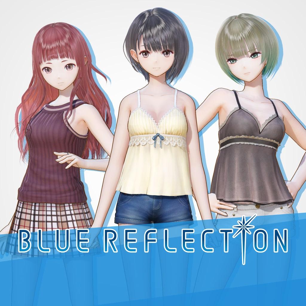 BLUE REFLECTION: Summer Outing Set A (Hinako, Sarasa, Mao)