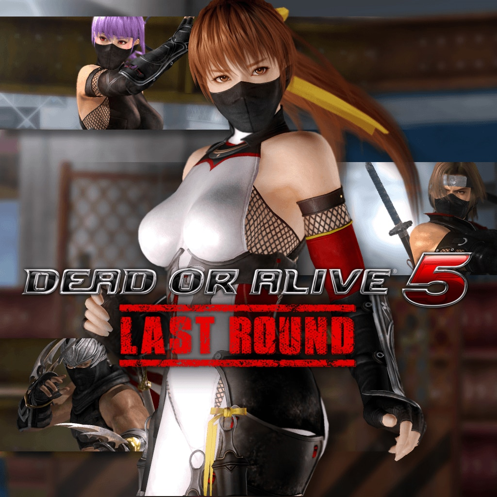 DOA5LR Ninja 2015 Costume Set