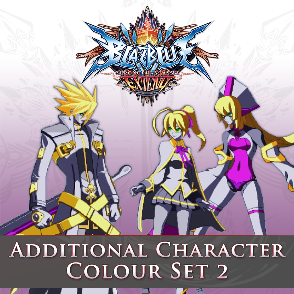 Additional Character Colour Set 2