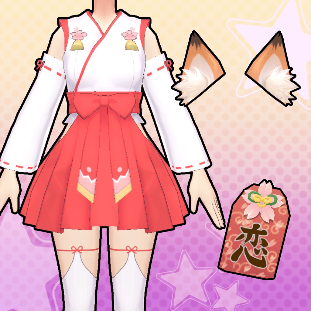 Gal*Gun: Double Peace 'Shrine Maiden' Costume Set