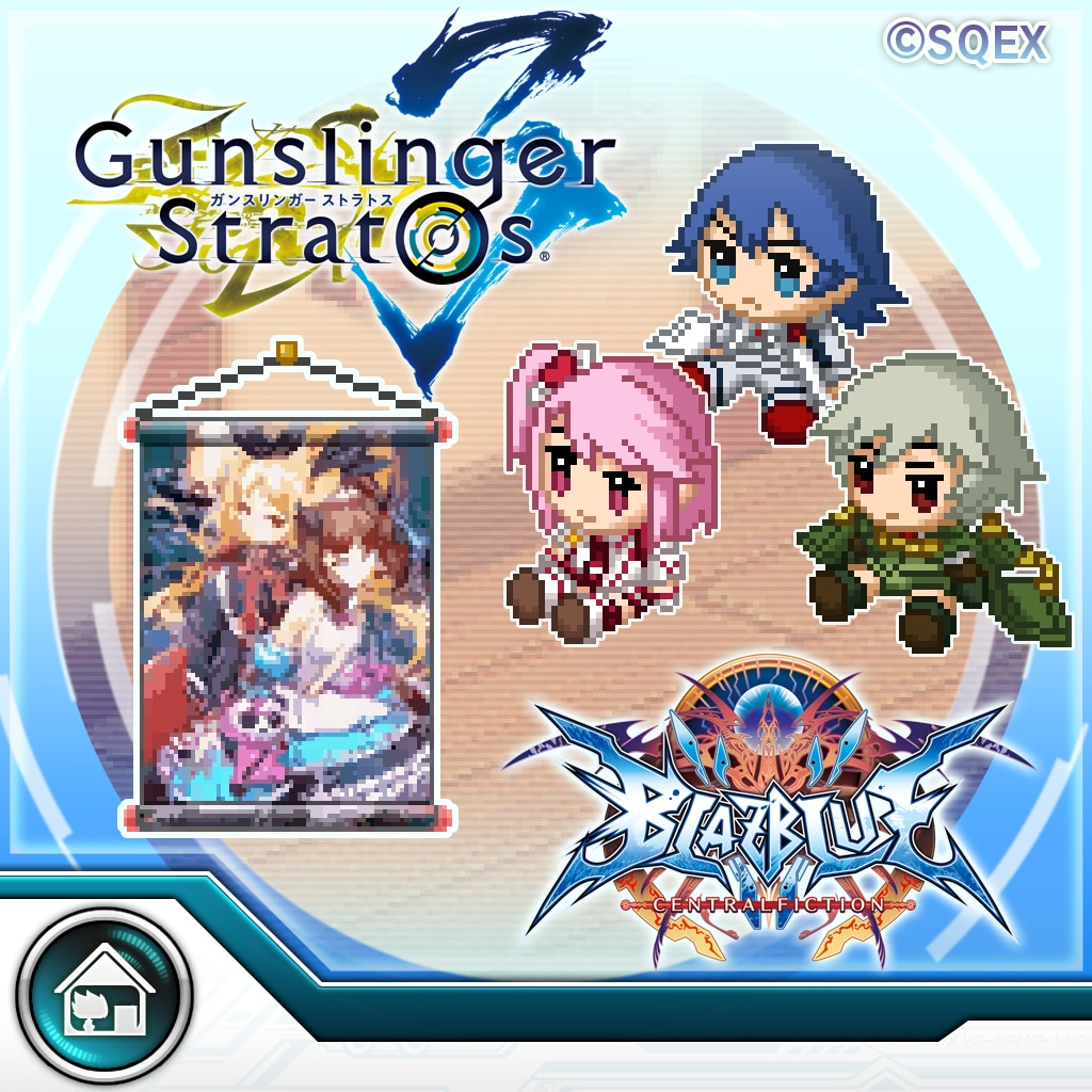 BLAZBLUE CENTRALFICTION GUNSLINGER STRATOS Pack [CROSS-BUY]