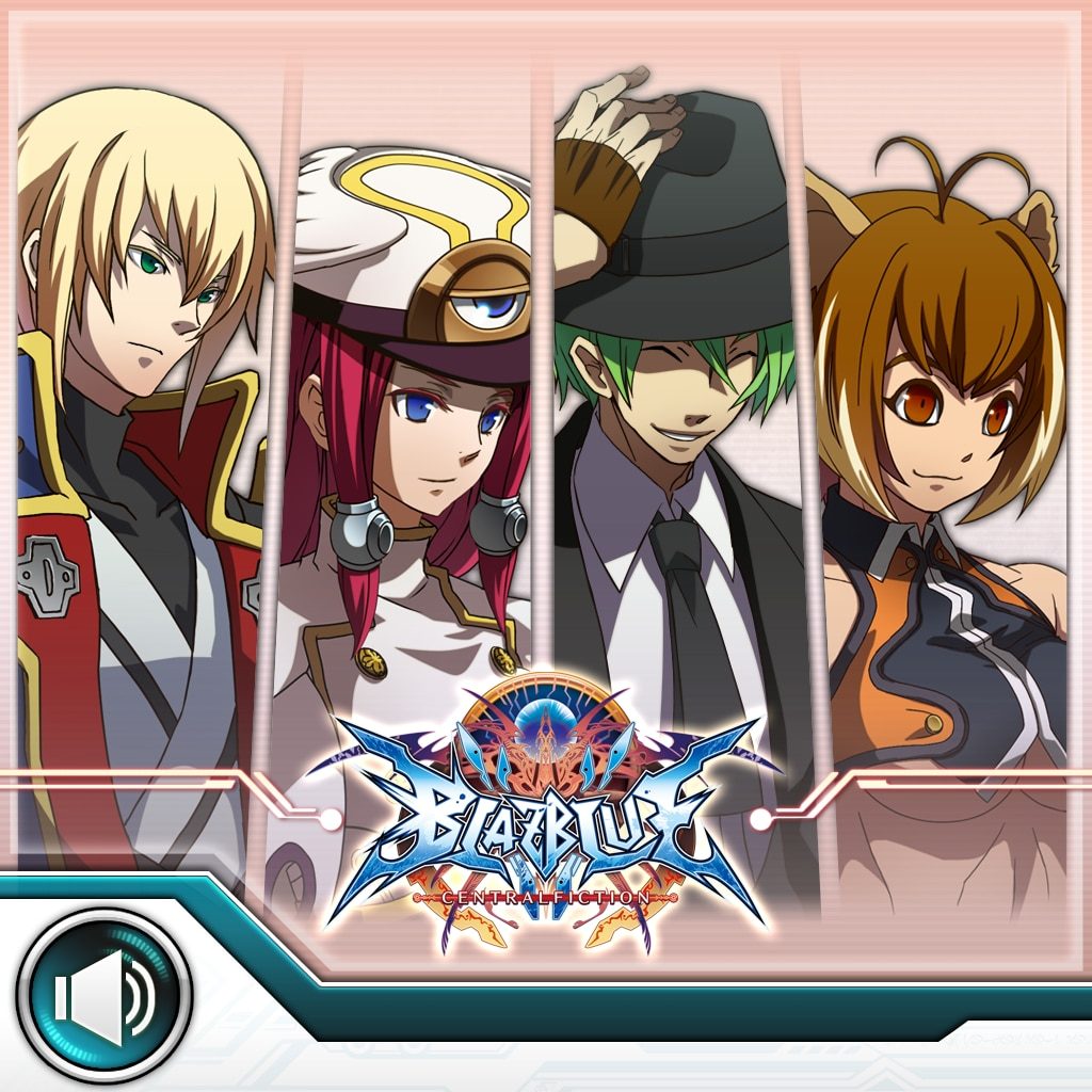 BLAZBLUE CENTRALFICTION System Voice Set B [Cross-Buy]