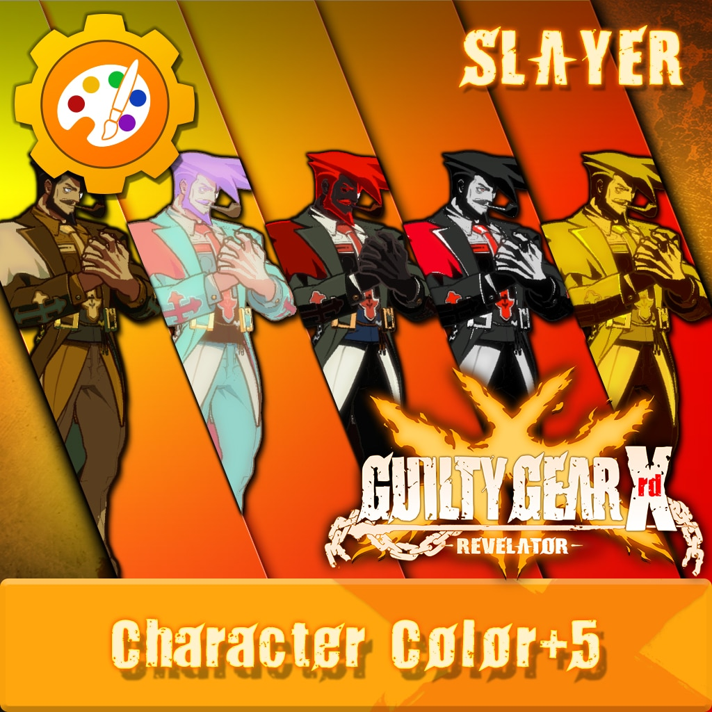 GGXR - Additional Character Colors 'Slayer' [Cross-Buy]