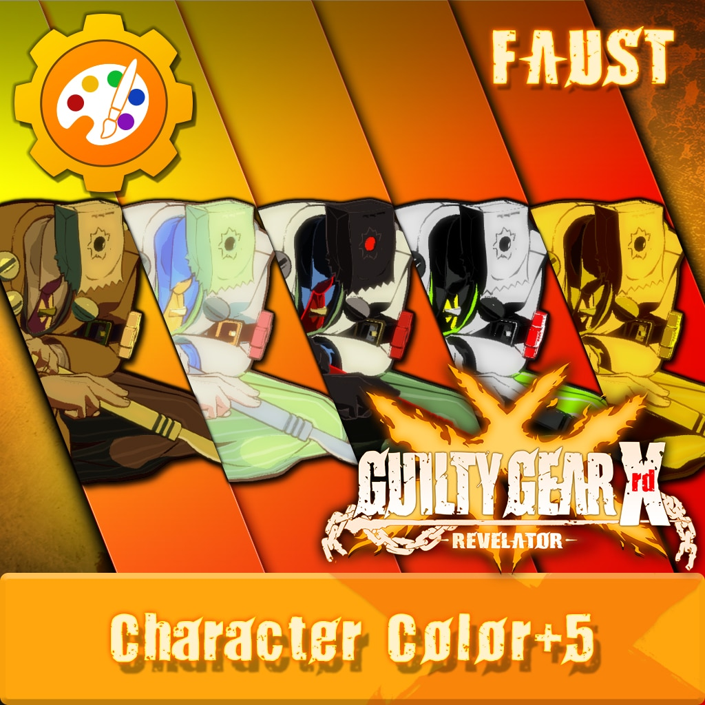 GGXR - Additional Character Color 'Faust' [Cross-Buy]
