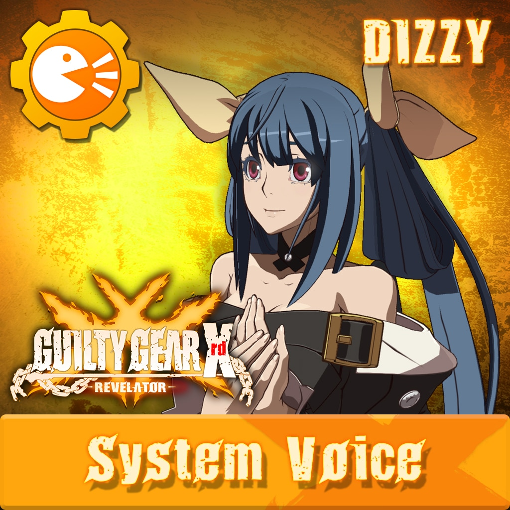 GUILTY GEAR Xrd -REVELATOR- System Voice 'Dizzy'