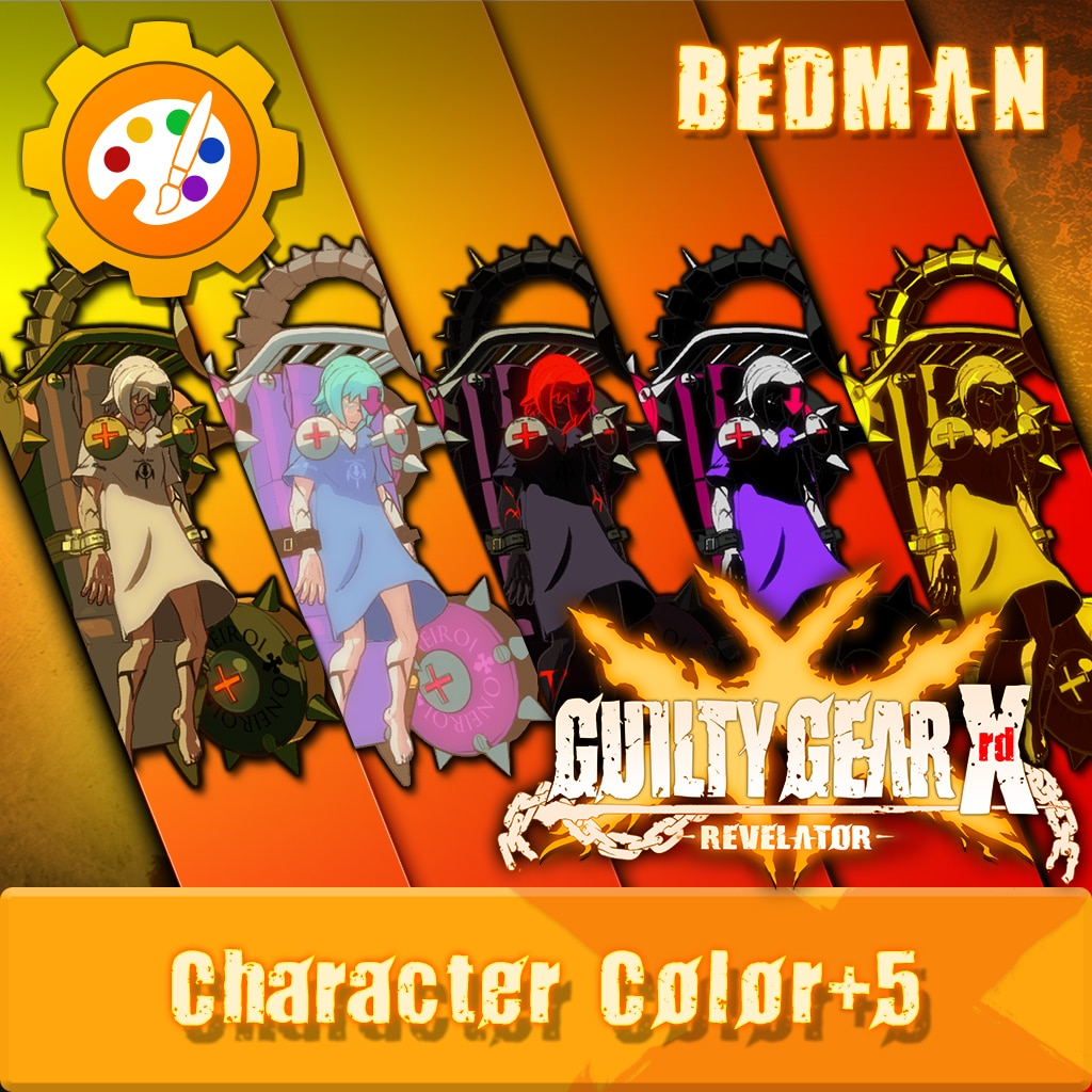 GUILTY GEAR Xrd -REVELATOR- Character Clr 'Bedman' [Cross-Buy]