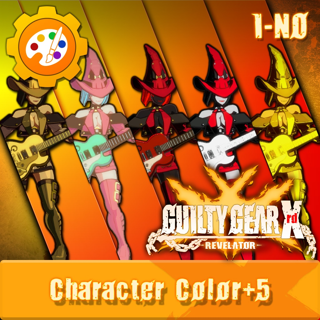 GGXR - Additional Character Colors 'I-No' [Cross-Buy]