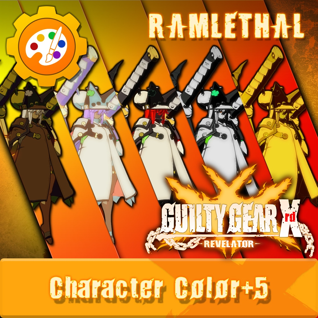 GGXR - Additional Colors 'Ramlethal' [Cross-Buy]