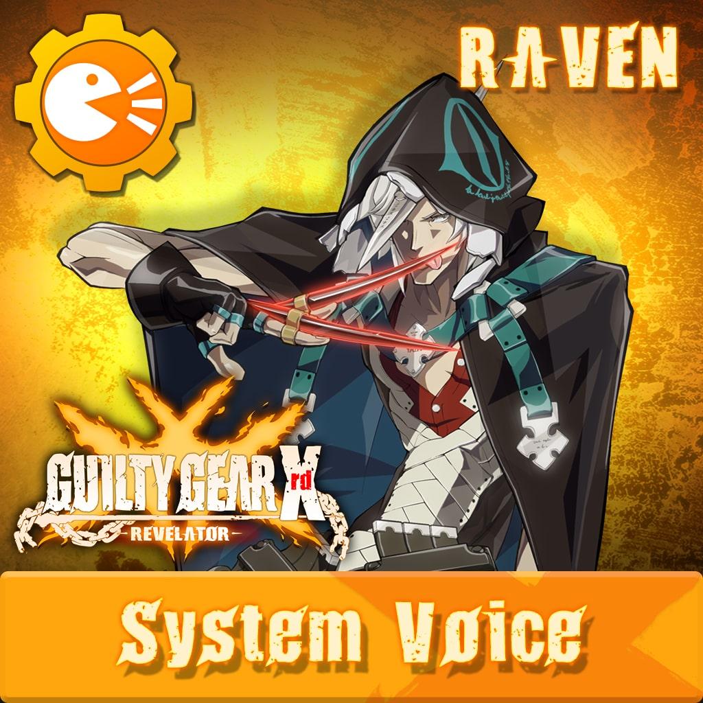 GGXR - System Voice 'Raven' [Cross-Buy]